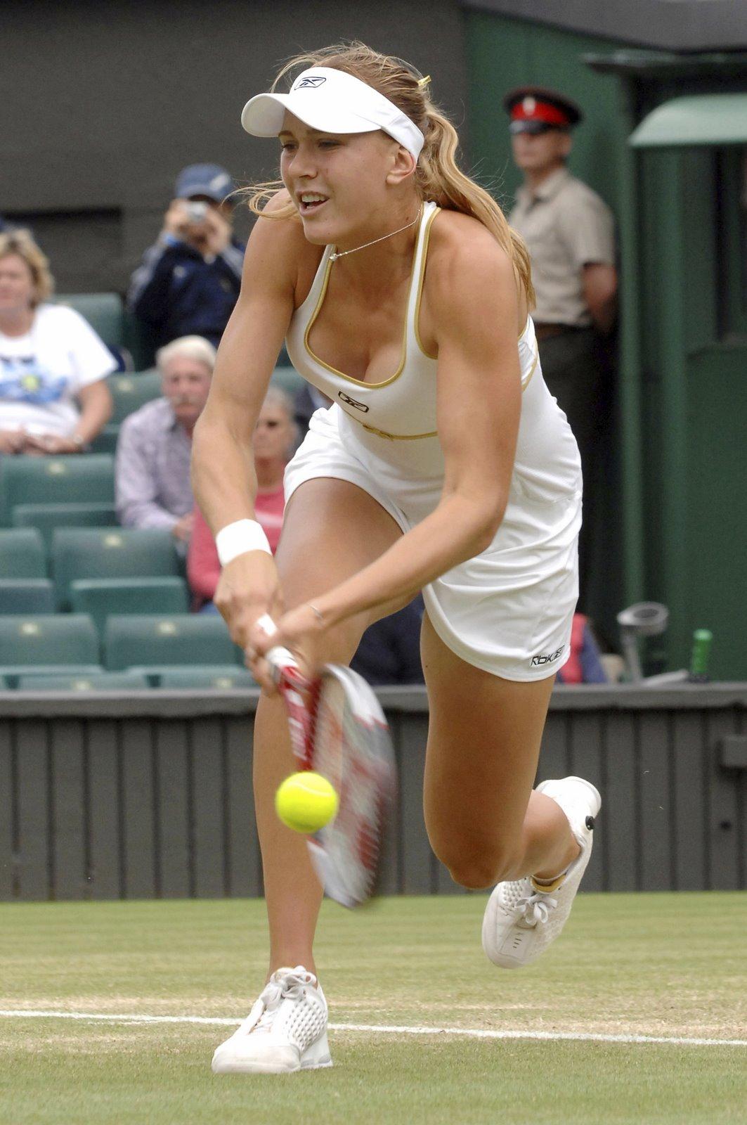 nicole vaidisova tennis girl Chico's Angels at WEHO Gay