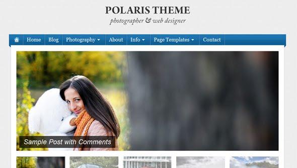 Polaris Wordpress Theme Free Download by WpZoom.