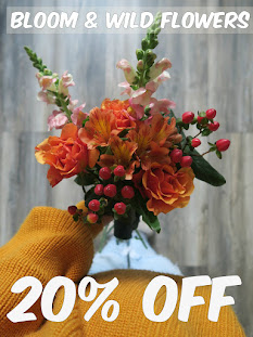 Bloom & Wild 20% discount