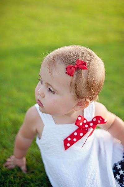 Photo bébé fille 12 mois