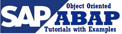 object-oriented-abap-tutorials-with-examples