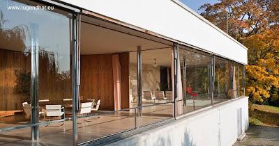 Villa Tugendhat de arquitectura Moderna
