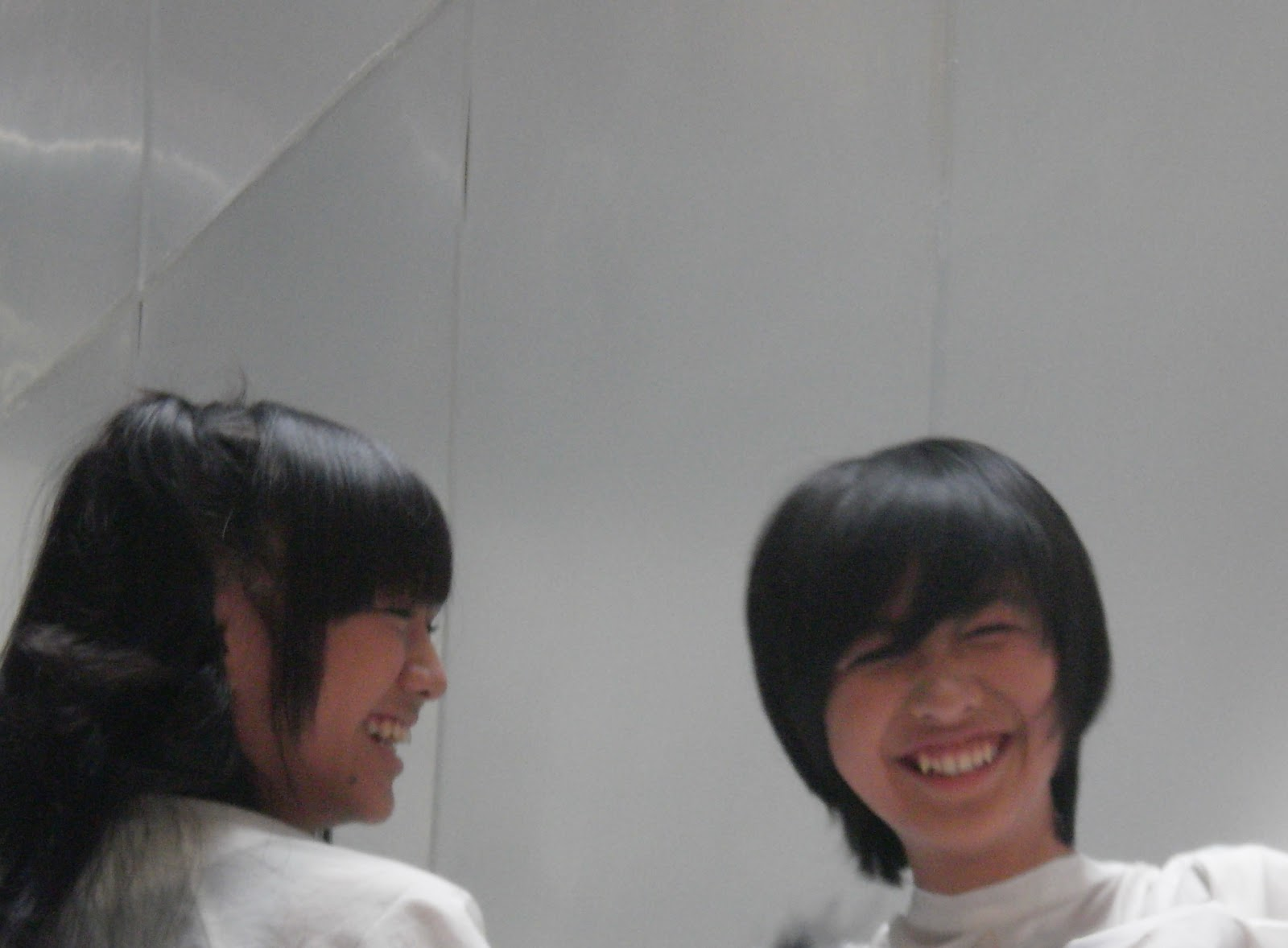 Hair styling sesion , Ghaida JKT48 and Shania JKT48