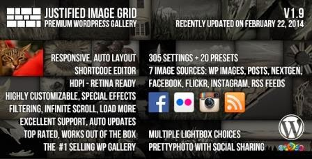 Justified Image Grid v1.9.1 - Premium WordPress Gallery