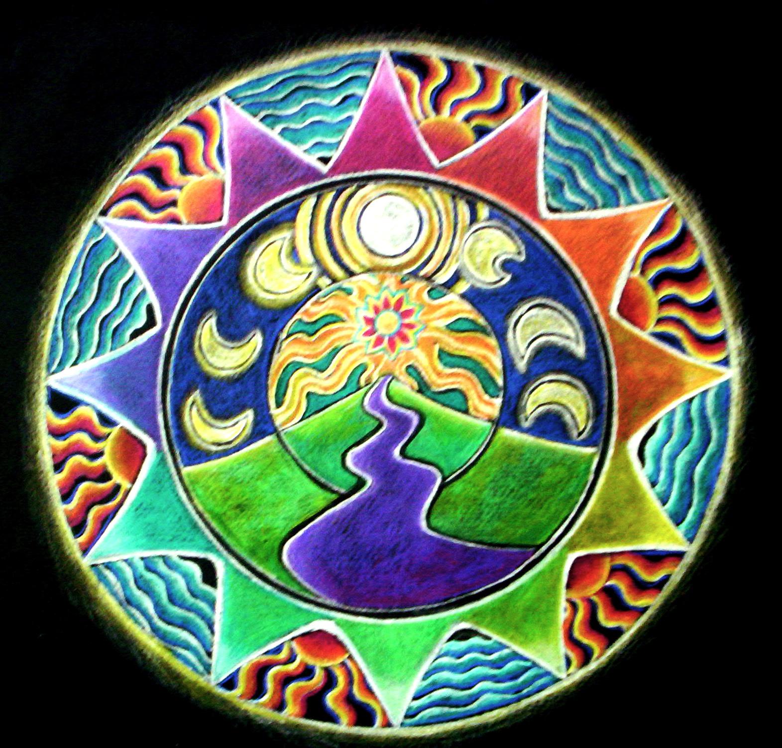 Mandalas Painting Classes Uk