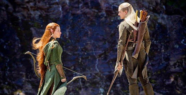 tauriel and legolas screencap