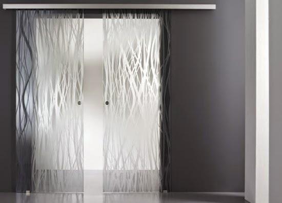 Modern Interior Glass Doors