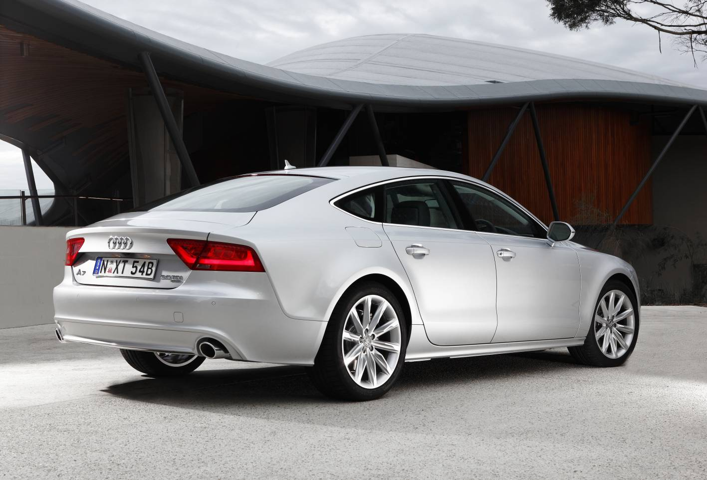 Most Wanted Cars Audi A7 2013