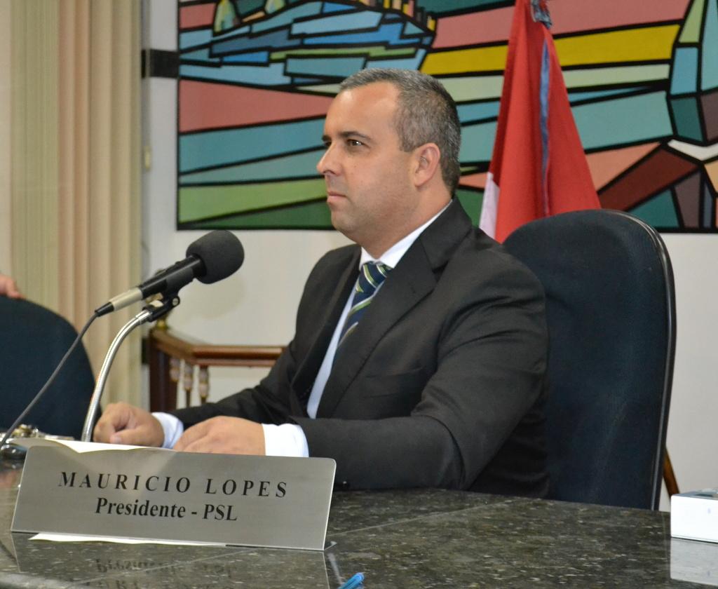 Vereador e Presidente da Câmara- Mauricio Lopes