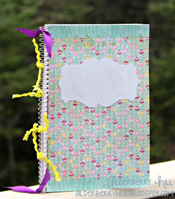 1 pm015 DIY: Altered Notebook with Mini File Folders