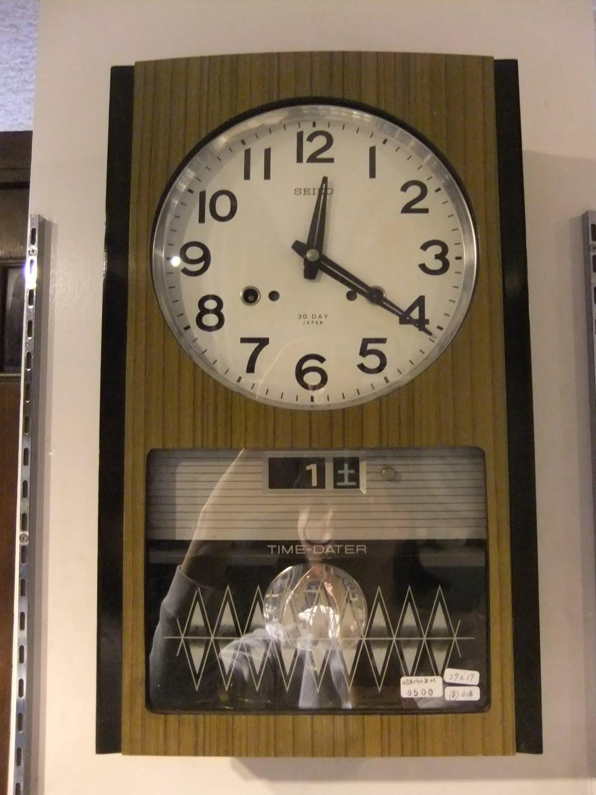 昭和40年代セイコー社掛け時計