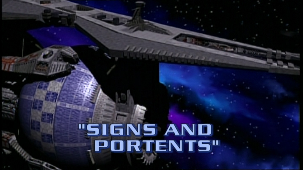 Ray hardgrit 39 s sci fi adventures babylon 5 1 13 signs for Sign and portents