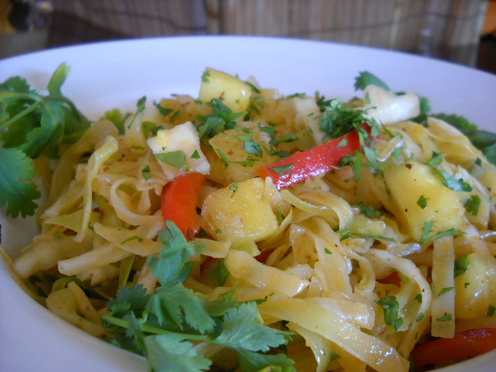 Image result for Ivorian Cabbage and Pineapple Salad