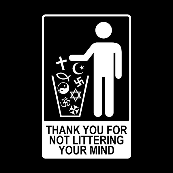 Orangized Religion = Garbage