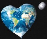 Tierra en forma de corazón