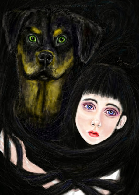 http://jlynnppg.deviantart.com/art/The-black-dog-422805806