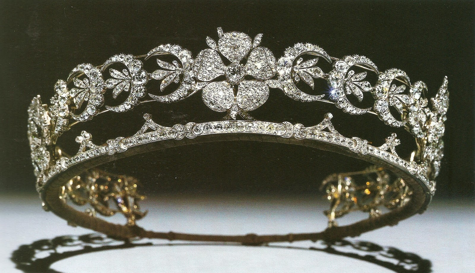 from her majesty s jewel vault the teck crescent tiara