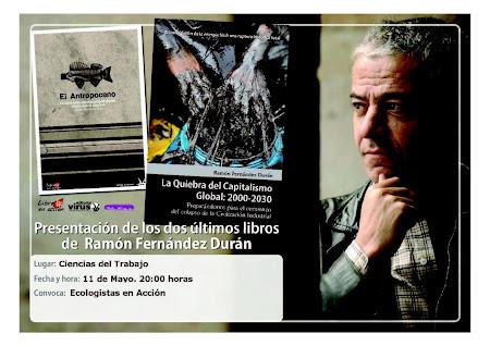 PRESENTACIÓN DE LOS ÚLTIMOS LIBROS DE RAMÓN FERNÁNDEZ DURÁN EN CÓRDOBA