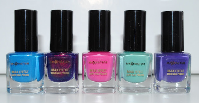 Max Factor Max Effect Nail Polish Minis