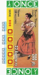 Traje típico de Córdoba - Mujer - Cupones ONCE 1996