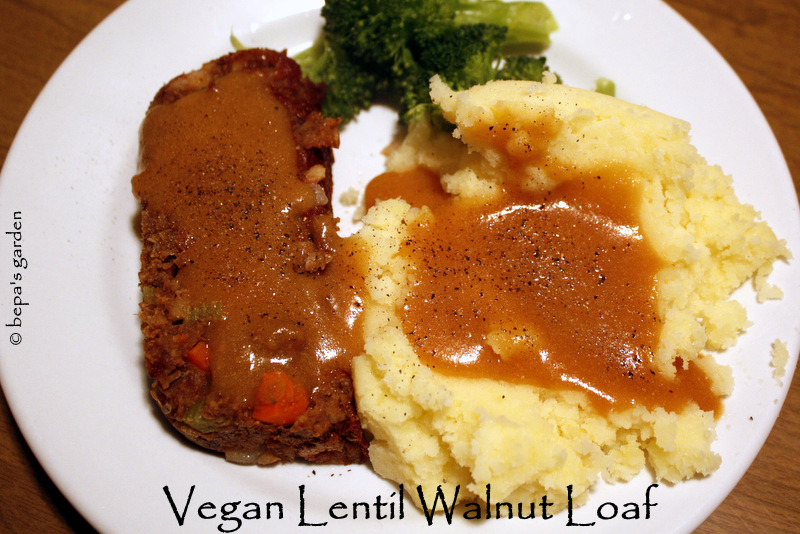 loaf vegan lentil walnut loaf with sweet potato recipes dishmaps vegan ...