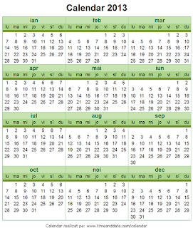 Calendar 2013 - 10
