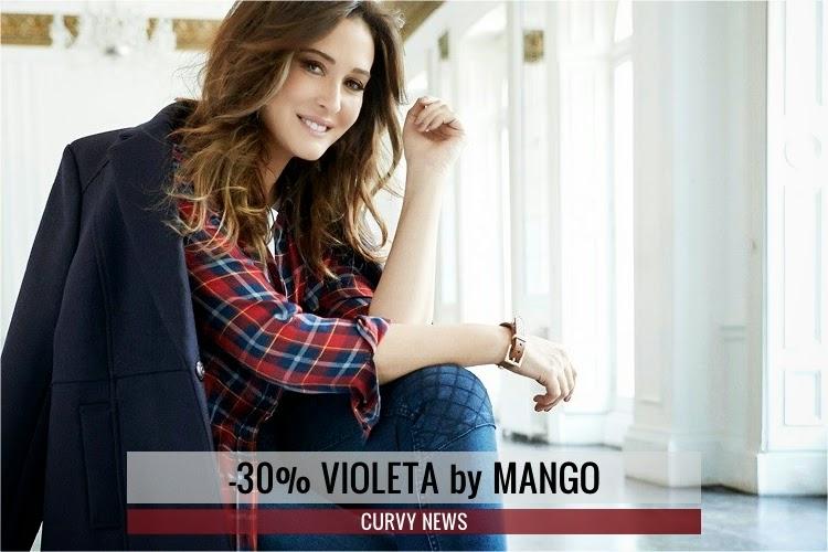 Violeta By Mango Online -30% · CURVY NEWS