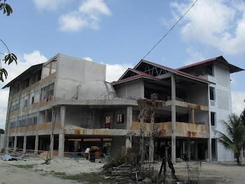 Gambar Terkini Pembinaan Sek.Men Islam Darul Bayan hingga 3 Mac 2011