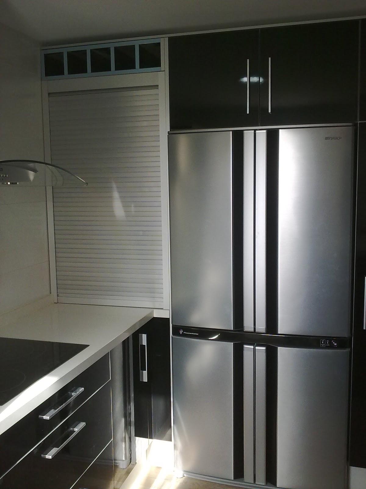 Carpinteria los molinos fotos cocinas for Muebles de cocina de aluminio