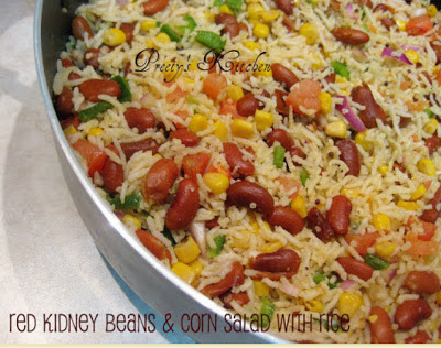 red kidney bean salad