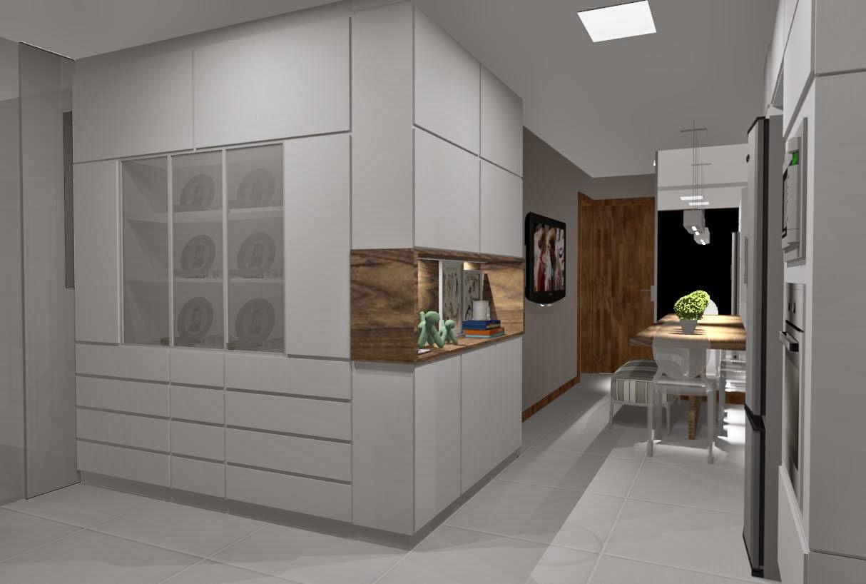 Ideias da Bê!: #COZINHA : uma cozinha com estilo Apto Mata da Praia #697E4D 1214 818