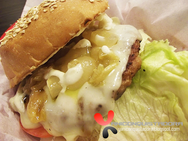 SIZE MATTERS  Italian Burger Job