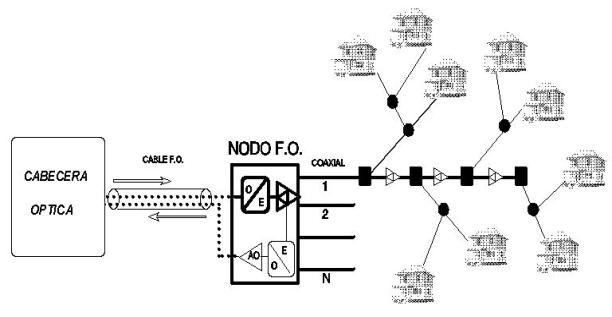 television catv  redes de acceso de banda ancha  hfc