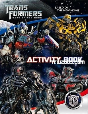 TRANSFORMERS 3: The Dark of the Moon (2011)... Spoiler/Rumeurs [page 2] - Page 38 TF3ActivityBook