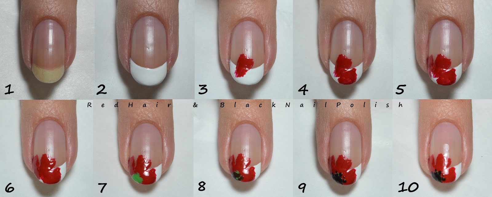 Французский маникюр на ногтях пошаговая инструкция