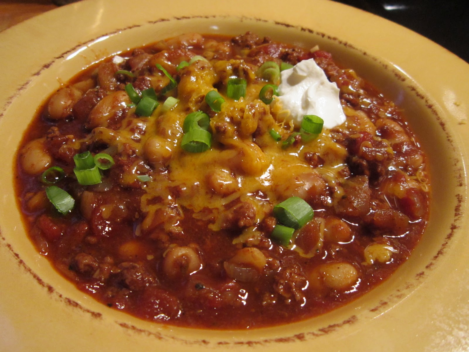 Fatback and Foie Gras: Beefalo Milk Stout Beer Chili Recipe