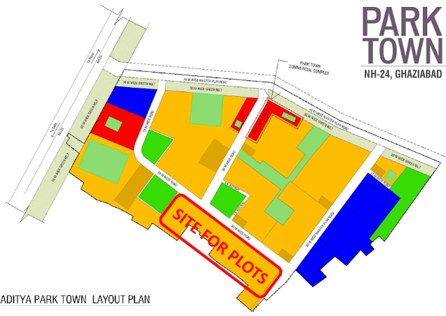 Aditya Park Town Plots Layout