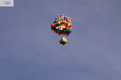A real-life version of Pixar's animated film up