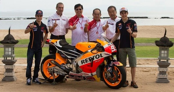 Honda Livery MotoGP 2015 otomotif info