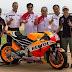 Tulisan SATU HATI Menghiasi Honda Livery MotoGP 2015