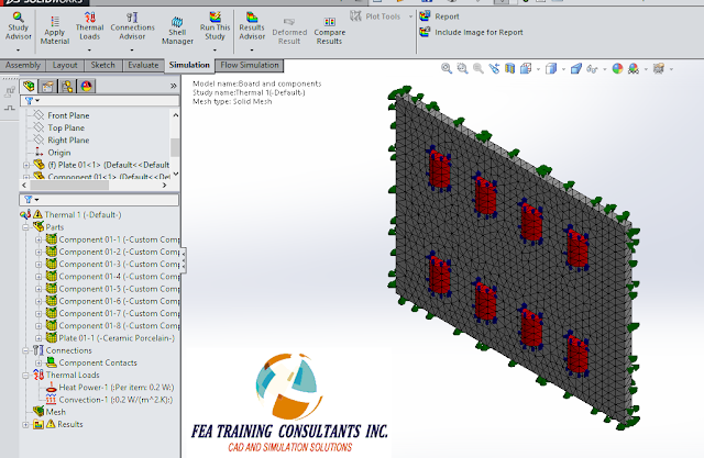 loads in solidworks simulation