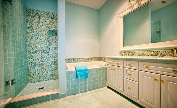 Turquoise Bathroom Design Ideas Photos
