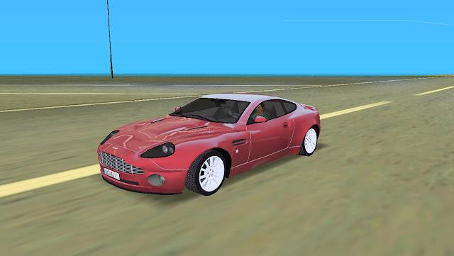 Aston Martin V12 Vanquish - GTA Vice City