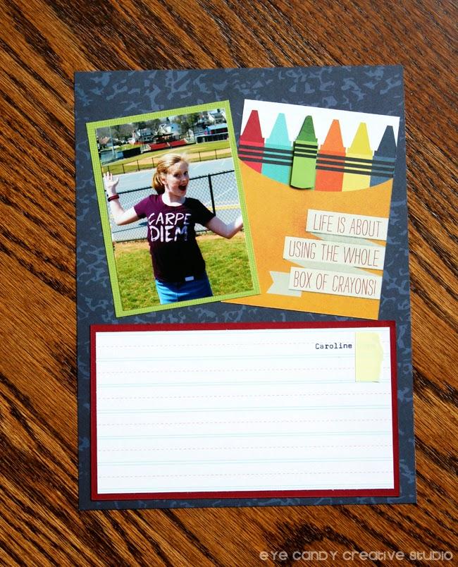 teacher appreciation gift, school, teachers, box of crayons, memories