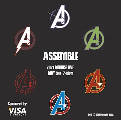 "The Avengers ""Assemble"" Group Art Show at Gallery 1988"