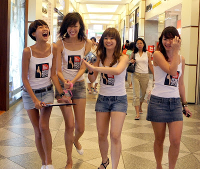 girls shopping mall   hot girls wallpaper