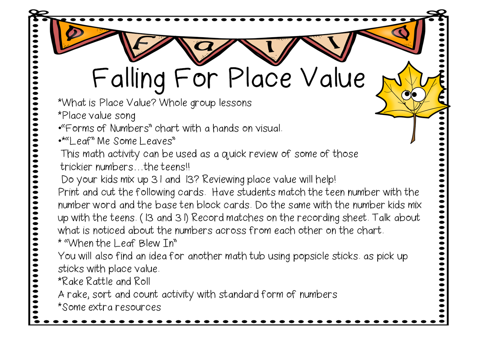 worksheet Place And Value first grade wow falling for place value this little unit will help you introduce and practice with your youngest learners here are a few pics
