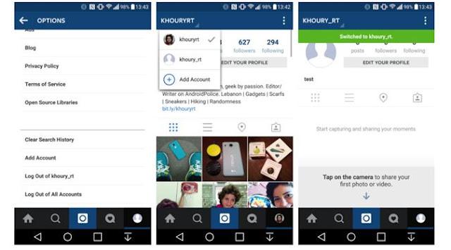 Cara Terbaru Membuat Akun Instagram Lebih dari Satu