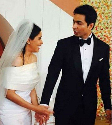 Actress Asin and Rahul  Marriage Photos
