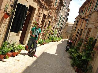 Filoses Street in Valldemossa